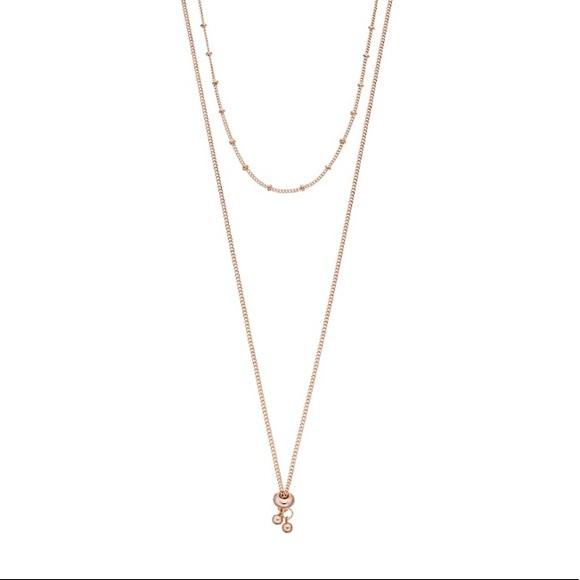 """LC Lauren Conrad Jewelry - Lauren Conrad Rose gold necklace 16"""""""